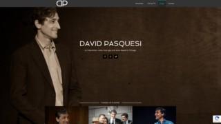 Screenshot https://davidpasquesi.com/