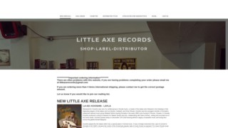 Screenshot https://littleaxerecords.com/