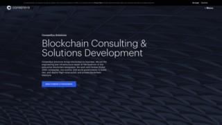 Screenshot https://consensys.net/solutions/
