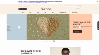 Screenshot https://aveeno.com/